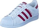 adidas Originals - Superstar Ftwr White/Mystery Ruby F17/Ft
