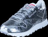 Reebok Classic - Cl Lthr Hd Silver Met/Snowy Grey/Primal R