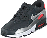 Nike - Nike Air Max 90 Mesh (Gs) Anthracite/Silver-Punch-White
