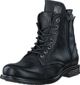 Sneaky Steve - Kingdom Leather Black