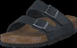 Birkenstock - Arizona Regular Soft Black Oiled Leather