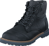 Toms - Ashland Black Pull Up Leather