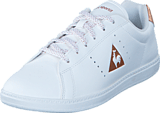 Le Coq Sportif - Courtone Gs S Lea/Metallic Opical White /Rose Gold