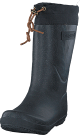 Bisgaard - Rubber Boot Winter Thermo Glitter Black