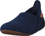 Bisgaard - Home Shoe Wool Sailor Blue