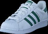 adidas Originals - Superstar Ftwr Wht/Collegiate Green/Wht