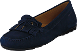 Sebago - Harper Kiltie Tie Navy Nubuck