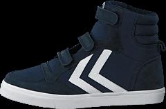 Hummel Stadil Jr Cuir Haut - Chaussures - Enfants - Noir / Bleu Brillant - Taille 27 uEEQWs1vJ