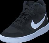 Nike - Court Borough Mid Gs Black/white