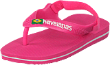 Havaianas - Baby Brasil Logo Ii Shocking Pink
