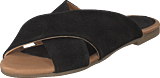 Bianco - Cross Slipper Black
