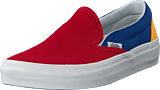 Vans - Ua Classic Slip-on Yacht Club Red/blue/yellow