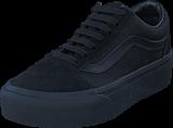 Vans - Ua Old Skool Platform Black/black