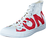 Converse - Chuck Taylor All Star Natural/enamel Red/egret
